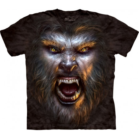 Werewolf Face T-Shirt The Mountain