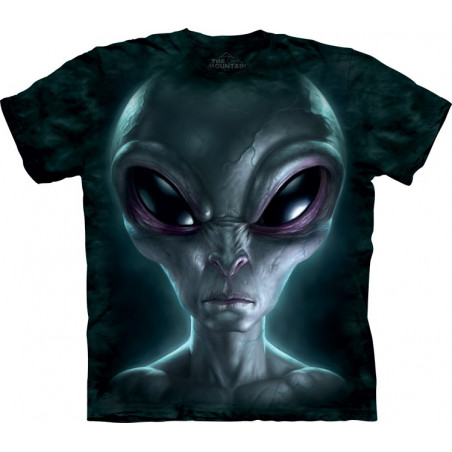 Grey Alien T-Shirt The Mountain