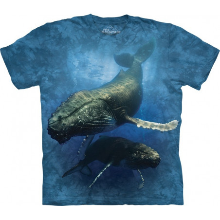 Blue Whale T-Shirt The Mountain