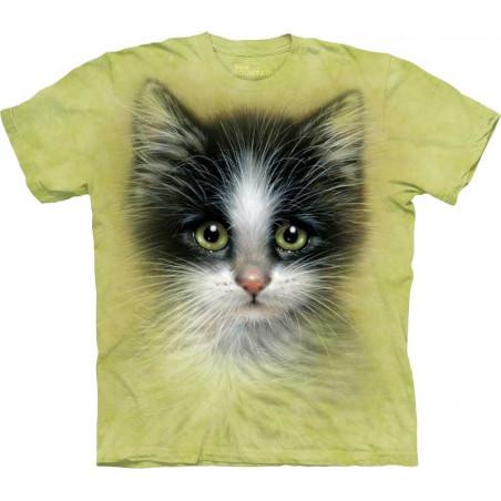 Green Eyed Kitten T-Shirt The Mountain