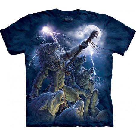 Wolves Calling The Storm T-Shirt The Mountain