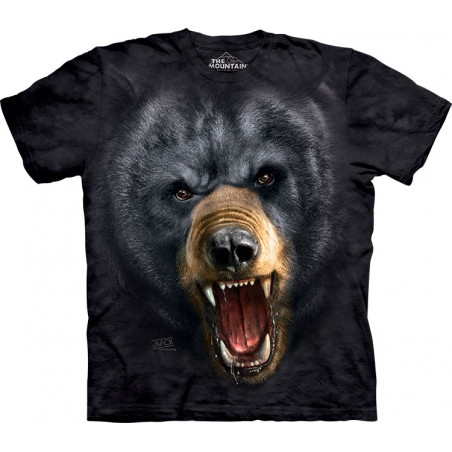 Aggressive Nature: Black Bear T-Shirt