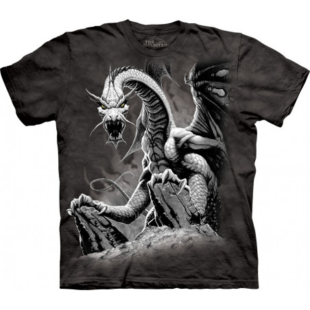 Cool Black Dragon T-Shirt