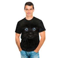 Black Kitten Face T-Shirt