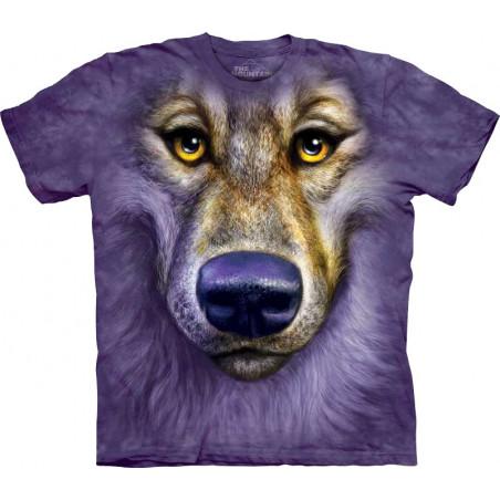 Friendly Wolf Face T-Shirt