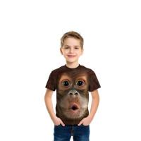 Big Face Baby Orangutan T-Shirt