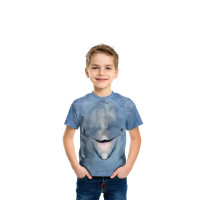 Dolphin Face T-Shirt