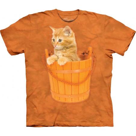 Bucket Kitten T-Shirt The Mountain