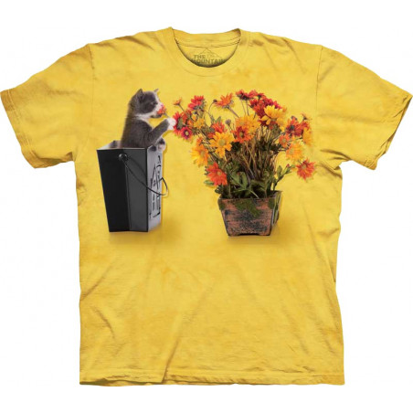 Flower Kitten T-Shirt The Mountain