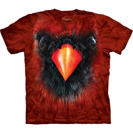 Cardinal Face T-Shirt The Mountain