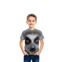 Big Face Ring Tailed Lemur T-Shirt