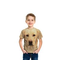 Yellow Lab Portrait T-Shirt