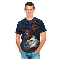 Eagle Flag Collage T-Shirt