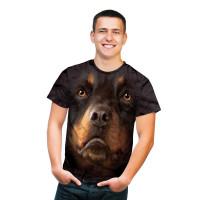 Rottweiler Face T-Shirt