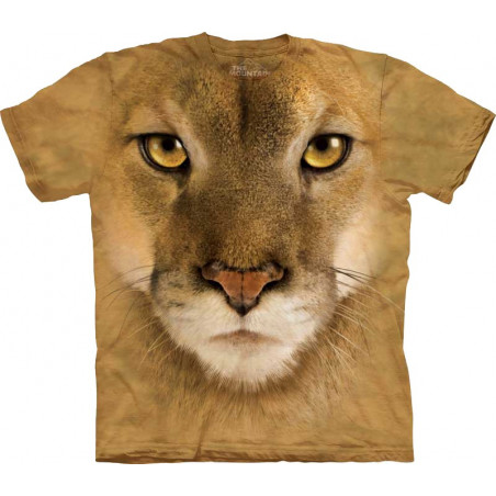 Mountain Lion Face T-Shirt