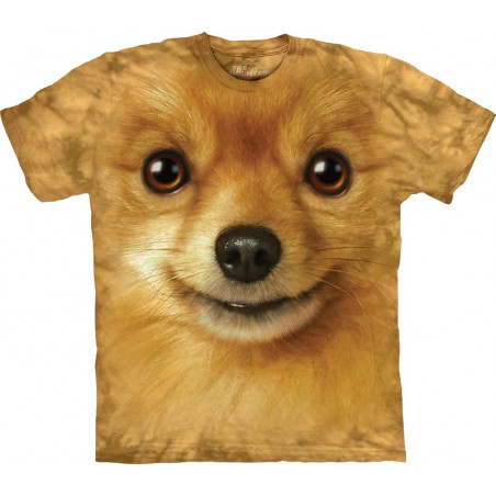 Pomeranian Face T-Shirt