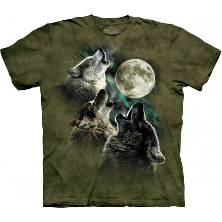 Three Wolf Moon in Olive