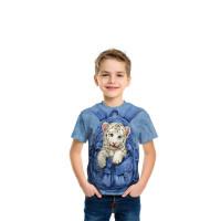 Backpack White Tiger T-Shirt