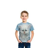 Fluffy White Kitten T-Shirt