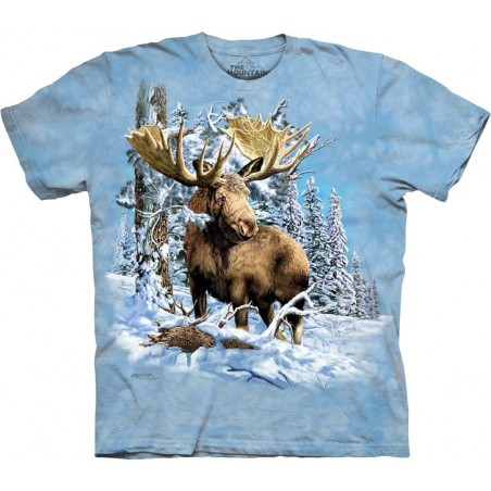 Find 7 Moose T-Shirt The Mountain