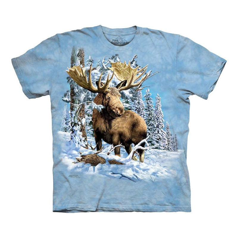 Find 7 Moose T Shirt The Mountain Clothingmonster Com