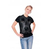 Black Lab Face T-Shirt