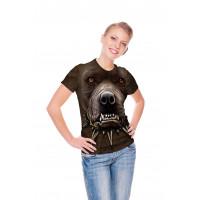 Zombie Pitbull Face T-Shirt