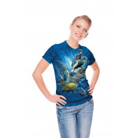 Find 9 Sea Turtles T-Shirt