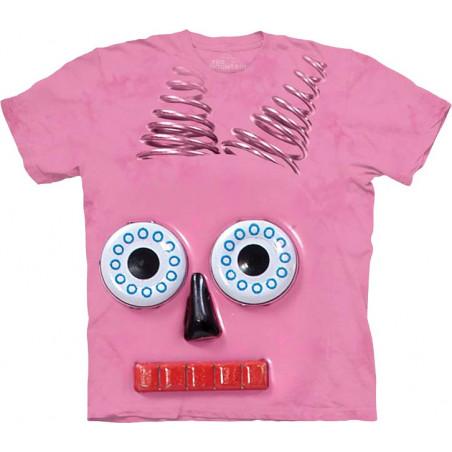 Big Face Pink Robot