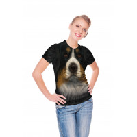 Bernese Mountain Dog Face T-Shirt