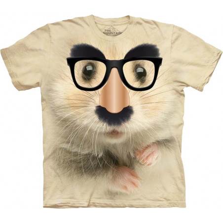 Big Face Hamster of Mystery T-Shirt The Mountain