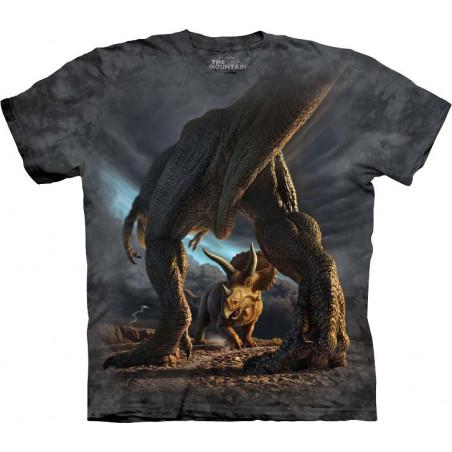 Dino Battle T-Shirt The Mountain