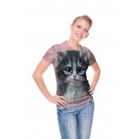 Pretty in Pink Kitten T-Shirt