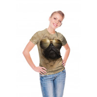 Aviator Pug T-Shirt