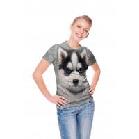 Siberian Husky Puppy T-Shirt