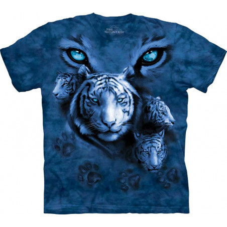 White Tiger Eyes T-Shirt
