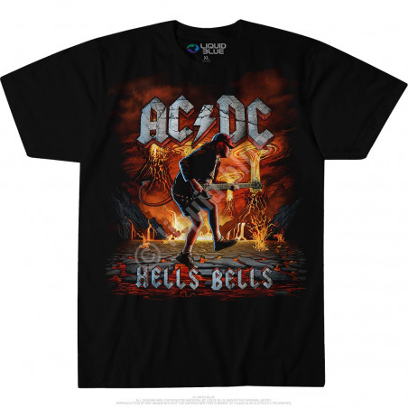 AC-DC - Rock Eruption - Black T-Shirt