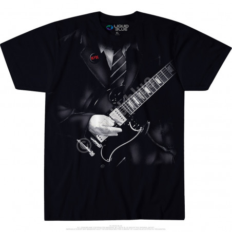 AC-DC - Angus Young - Black T-Shirt