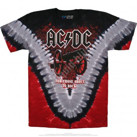 AC-DC - Cannon V-Dye - Tie-Dye T-Shirt