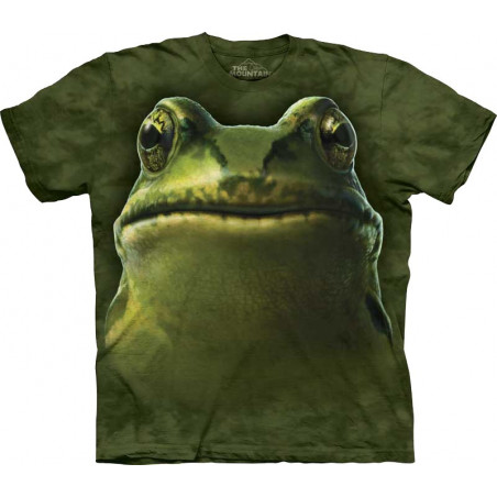Frog Head T-Shirt The Mountain