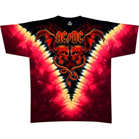 AC-DC - Evil Wings - Tie-Dye T-Shirt