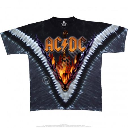 AC-DC - Hells Bells - Tie-Dye T-Shirt