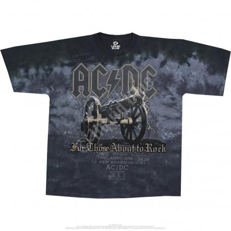AC-DC - Cannon Tie-Dye - T-Shirt