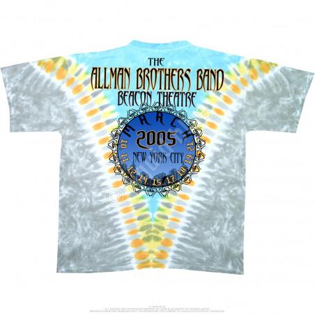 Allman Brothers - Flying Peach V - Tie-Dye T-Shirt