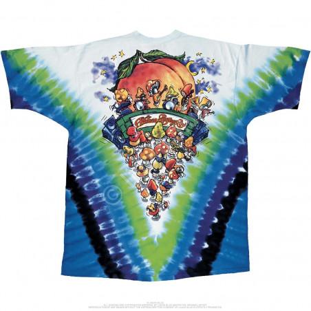 Allman Brothers Tie-Dye T-Shirt Liquid Blue