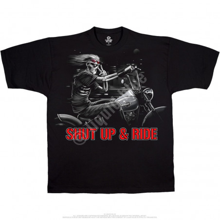 BIKER - Freedom Rider Black T-Shirt