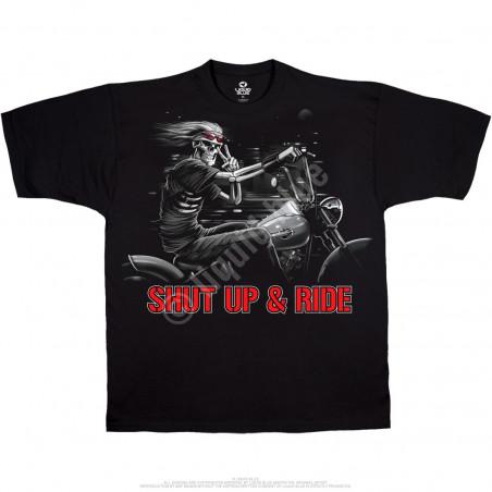 BIKER - Freedom Rider Black T-Shirt