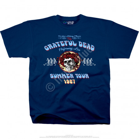 Grateful Dead - Bertha Tour - Navy T-Shirt