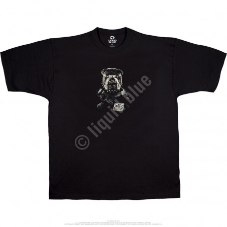 Biker - Cats Suck Biker - Black T-Shirt