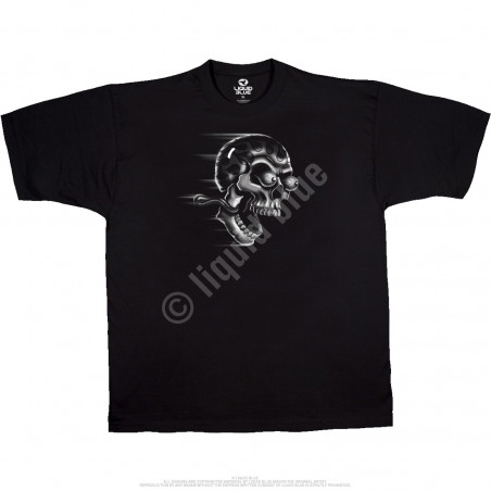 Biker - Shut Up And Ride - Black T-Shirt